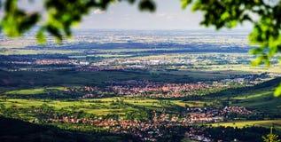Komarnicy Alsace widok obrazy stock