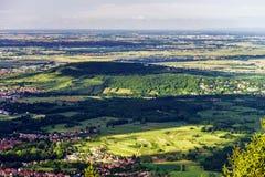Komarnicy Alsace widok obrazy royalty free