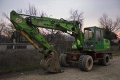 Komatsu excavator Royalty Free Stock Images