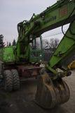 Komatsu excavator Stock Photography