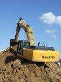 Komatsu excavator Stock Photos