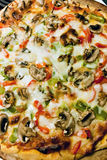 kombinaci pizzy polewy Fotografia Stock