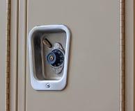 Kombinacja kędziorek na Szkolnej szafce Fotografia Royalty Free