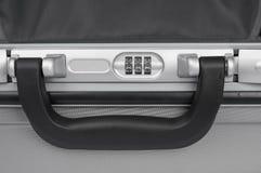 Kombinacja kędziorek walizka Fotografia Stock