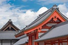 Kombinacja kilka dachy przy Cesarskim pałac Obraz Stock