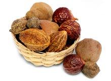 Kombinacja ziołowa lecznicza owoc zdjęcia stock