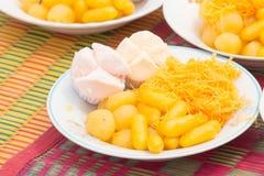 Kombination des thailändischen Kuchens Stockbild