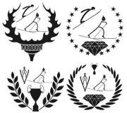 Kombinerat nordiskt Royaltyfri Fotografi