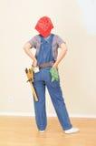 kombinezonów toolbelt kobieta Obraz Stock