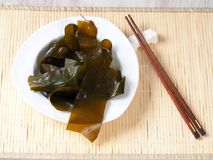 Kombu海带-海藻Kombu 免版税库存照片