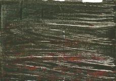 Kombu green abstract watercolor background Stock Photo