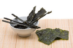 Kombu and kim nori Stock Image