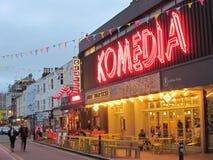 Komedia, Brigghton, Sussex do leste, Inglaterra, Reino Unido foto de stock
