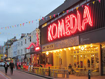 Komedia, Brighton, East Sussex, England,UK. Famous comedy and music venue Stock Photo