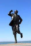 komediförfattareeric morecambe staty uk Arkivbild