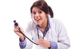 Komediowa pielęgniarka Obraz Royalty Free
