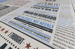 Komediowy dywan w Blackpool lancashire, uk Zdjęcie Royalty Free