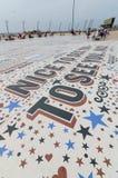 Komediowy dywan w Blackpool lancashire, uk Zdjęcie Stock