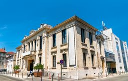 Komediteater av valencen i Frankrike royaltyfri foto