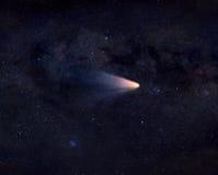 Komet im Raum Lizenzfreie Stockfotos