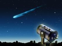 kometa Fotografia Stock