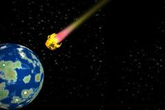 kometa Zdjęcia Stock