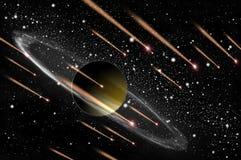 komety gazu planeta Zdjęcie Royalty Free