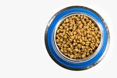Komhoogtepunt met droog huisdier - hondevoer stock afbeeldingen