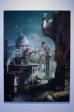 komiczek 2010 gier Lucca Zdjęcia Royalty Free