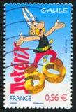 Komiczka charakter Asterix fotografia royalty free