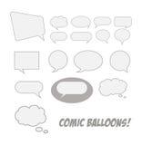 komiczna balon rozmowa ilustracji