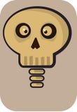 komiczna czaszka Obraz Royalty Free