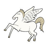 komiczna kreskówka Pegasus Zdjęcie Royalty Free