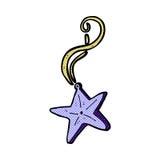 komiczna kreskówki magii gwiazdy kolia Zdjęcie Stock