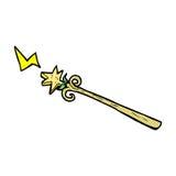 komiczna kreskówki magii różdżka Obrazy Royalty Free
