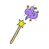 komiczna kreskówki magii różdżka Fotografia Royalty Free