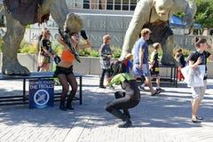 Komiczna przeciw konwencja w Utah ilustruje kontynuuje popularność te konwencje zdjęcia stock