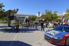 Komiczna przeciw konwencja w Utah ilustruje kontynuuje popularność te konwencje zdjęcie royalty free