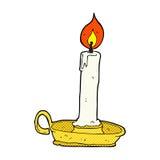 komicznej kreskówki stary candlestick ilustracji