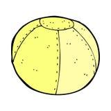 komicznej kreskówki zaszyty futbol Obraz Royalty Free