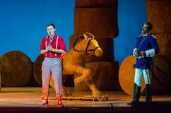 Komicznej opery miłości napój Obraz Stock