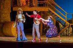 Komicznej opery miłości napój Zdjęcia Stock