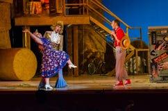 Komicznej opery miłości napój Obraz Royalty Free