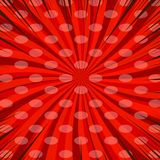 Komiczny czerwony pusty tło Zdjęcia Stock