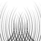 Komiczny verticall wyginająca się prędkość wykłada tło Ilustracji