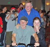 komikern för 2012 kaptener lurar Star Trek Fotografering för Bildbyråer