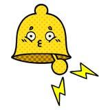 Komiks kresk?wki dzwonienia stylowy dzwon ilustracja wektor