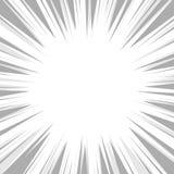 Komiksu Błyskowego wybuchu Promieniowy tło wektor Obraz Royalty Free