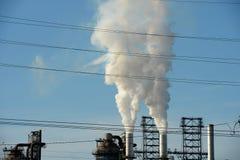 kominów przemysłowych Obrazy Stock