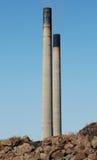 komin elektrownia wieże obraz stock